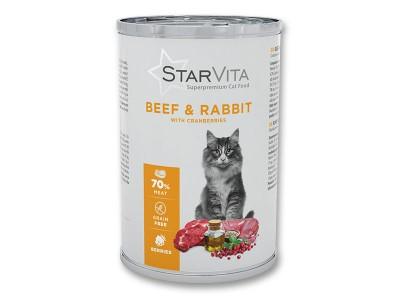 Влажный корм Starvita 400 г...