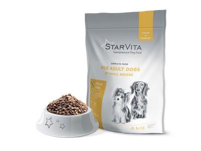 Сухой корм StarVita 4 кг...