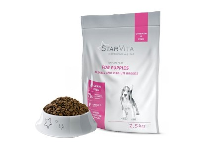 Сухий корм Starvitа 2.5 кг...