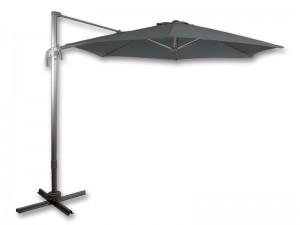 Зонт Santorini 300 см серый