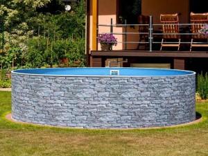Каркасний басейн AZURO...