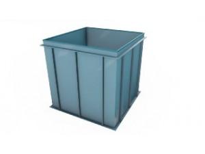 Купель квадратная для бани...