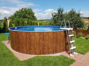 Каркасний басейн AZURO DE...
