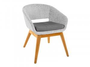 Садове крісло DEVI біле...