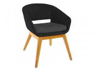 Садове крісло DEVI чорне...