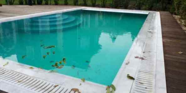 Расконсервация бассейна (раззимовка бассейна) после зимы